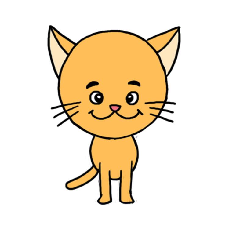 как нарисовать котенка