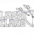 Рисуем логотип Clash of Clans