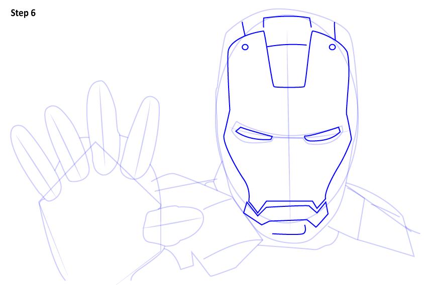 Рисуем Железного Человека
