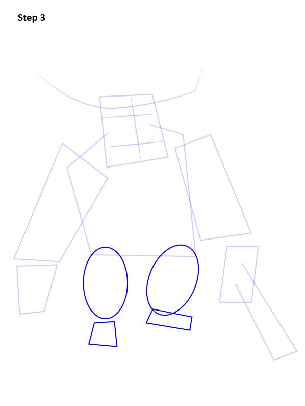 Как нарисовать Пекку