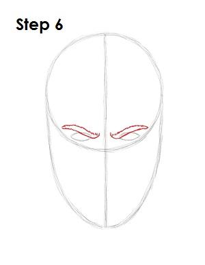 как просто нарисовать Скорпиона из игры 6