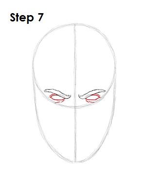 как просто нарисовать Скорпиона из игры 7