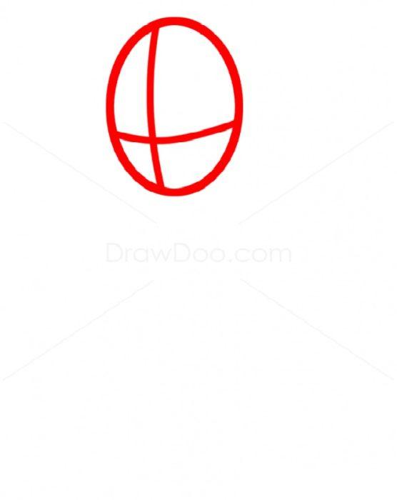 Как нарисовать Радугу Дэш