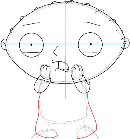Как нарисовать Стьюи