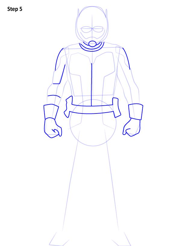Как нарисовать Человека муравья