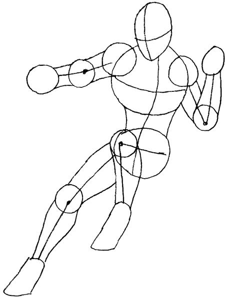 Как нарисовать Сорвиголову из комиксов