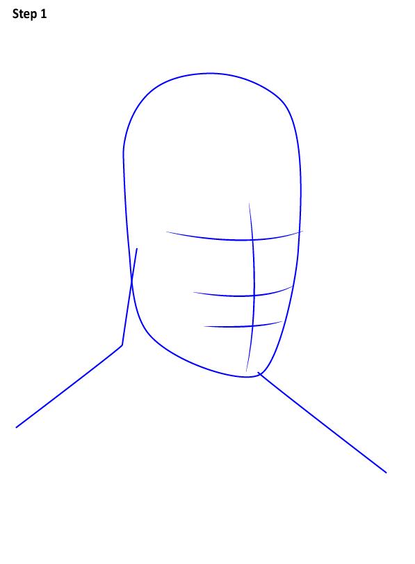 Как нарисовать Сорвиголову