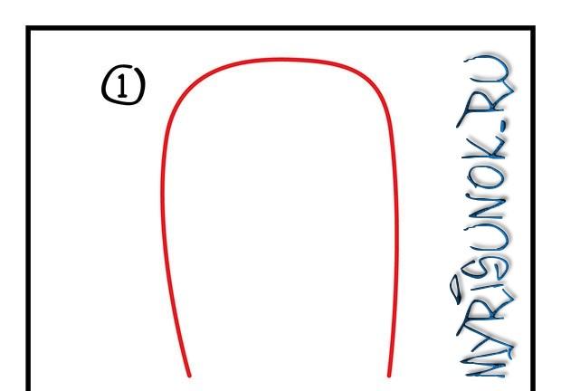 Как нарисовать кулич