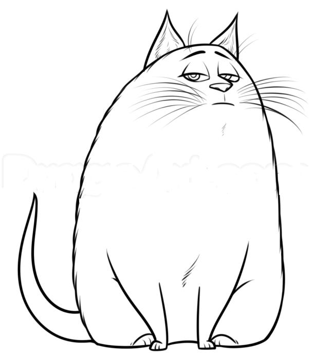Кошка Хлоя из мультика