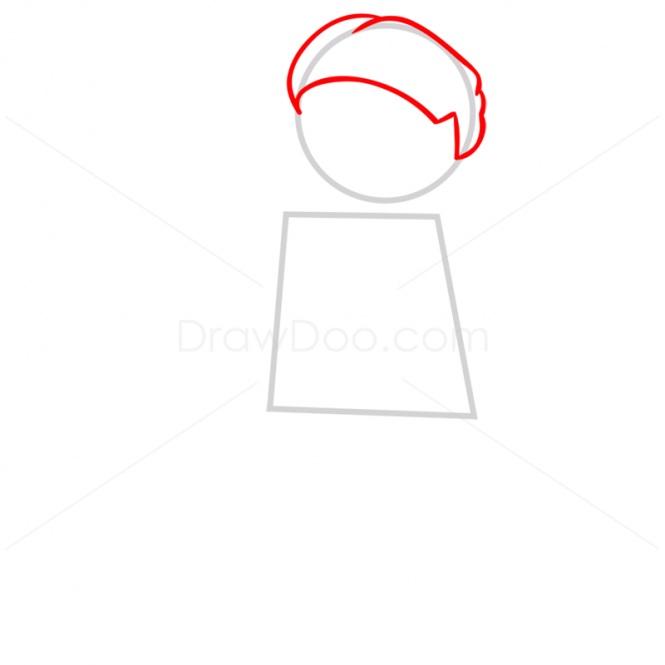 как нарисовать Падме Амидалу