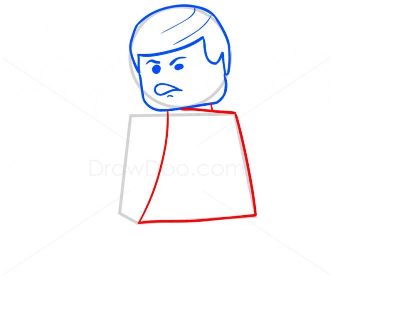 Хан Соло в стиле Лего