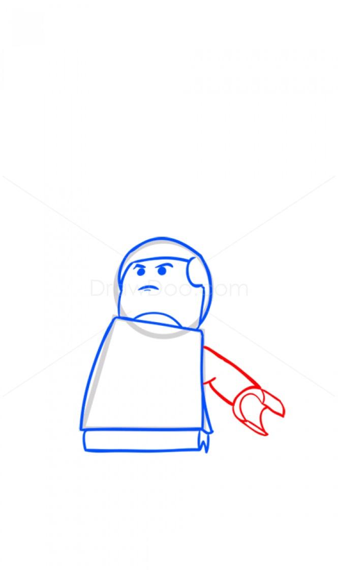 Рисуем Люка Скайуокера