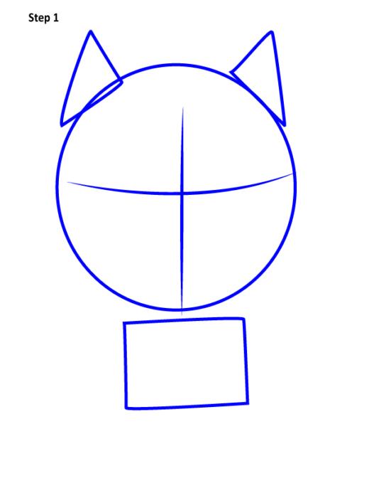 Просто нарисовать Черную пантеру 1