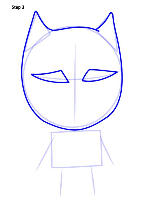 Просто нарисовать Черную пантеру 3