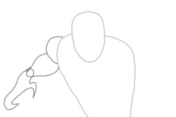 Как нарисовать Черную пантеру 2