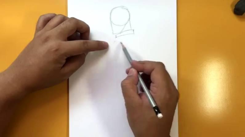 Как нарисовать Капитана Америку из Войны Бесконечности 1