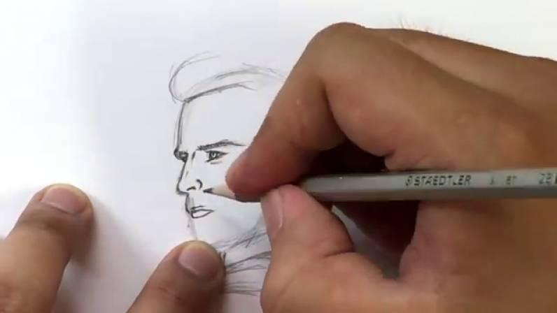 Как нарисовать Капитана Америку из Войны Бесконечности 13