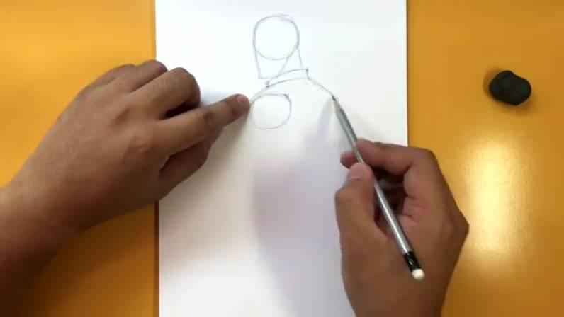 Как нарисовать Капитана Америку из Войны Бесконечности 2