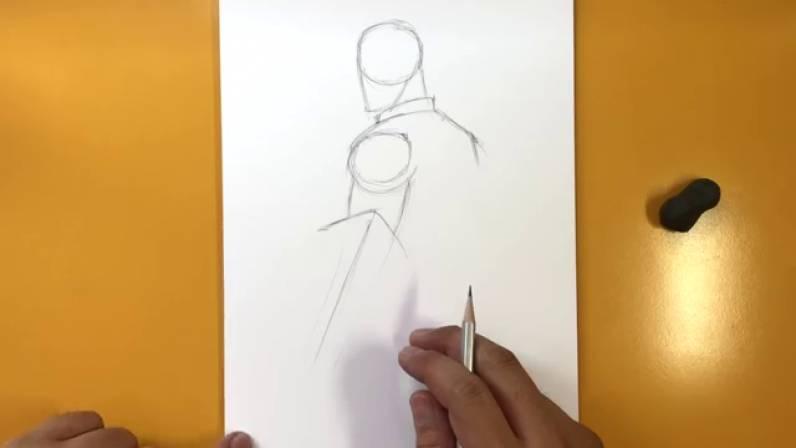 Как нарисовать Капитана Америку из Войны Бесконечности 3