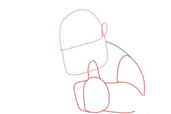 Как поэтапно нарисовать всадника на кабане2