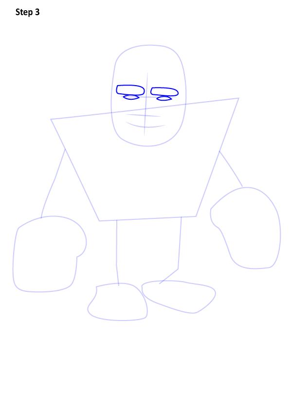 Как нарисовать гиганта из игры