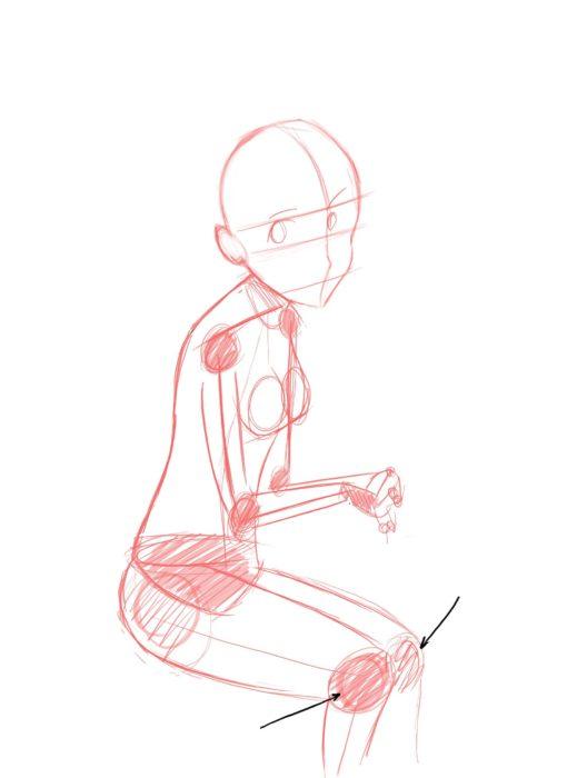 Как нарисовать аниме девочку
