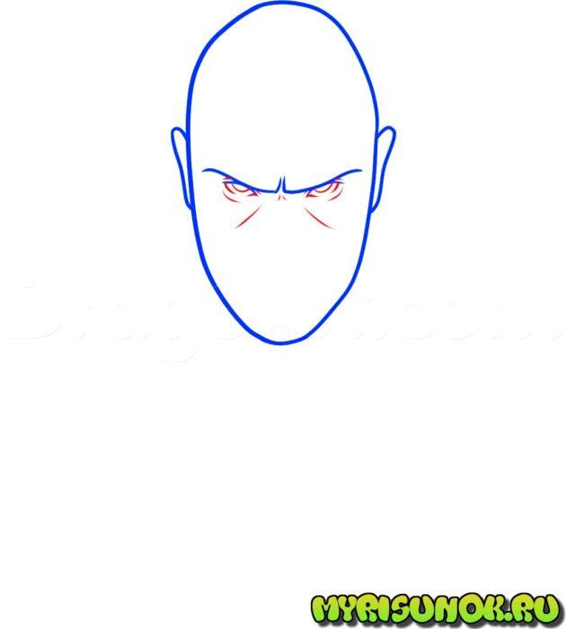 Как нарисовать Хитмена