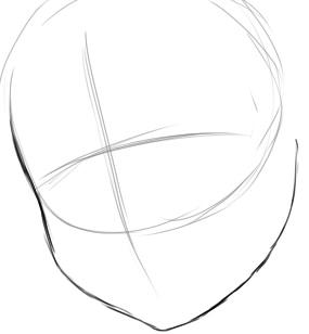 Как нарисовать Нацу из мультика 1