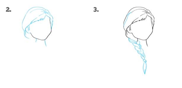 Как нарисовать Анну Эрендел 2