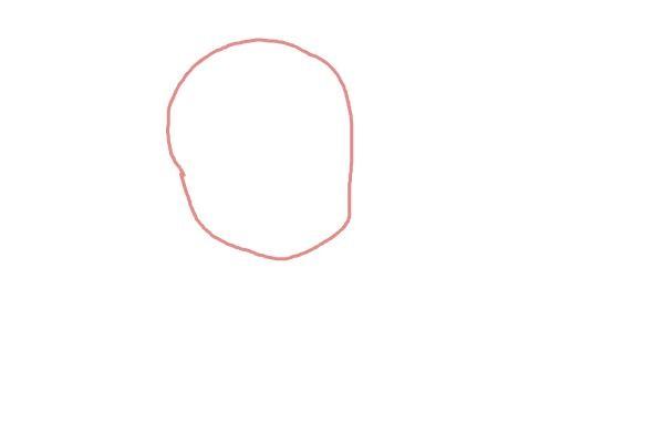 Рисуем чиби анна из мультика 1