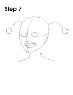 как нарисовать Харли Квинн