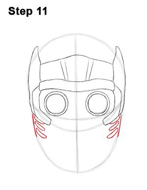 Как нарисовать Звездного лорда