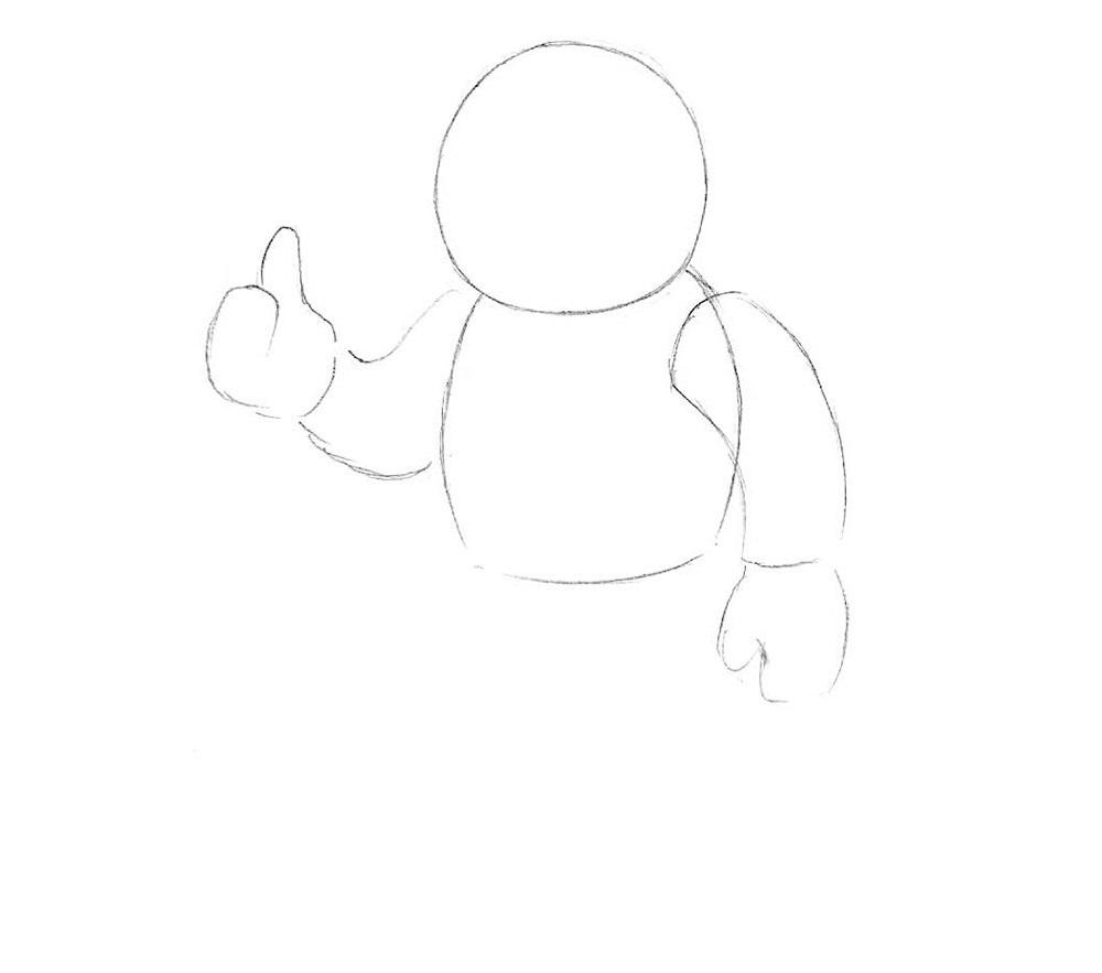 урок рисования космонавта2