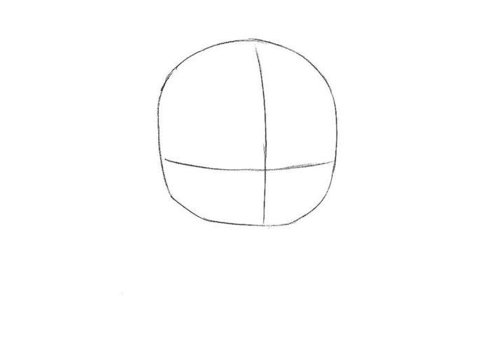 Как поэтапно нарисовать Стар лорда 1