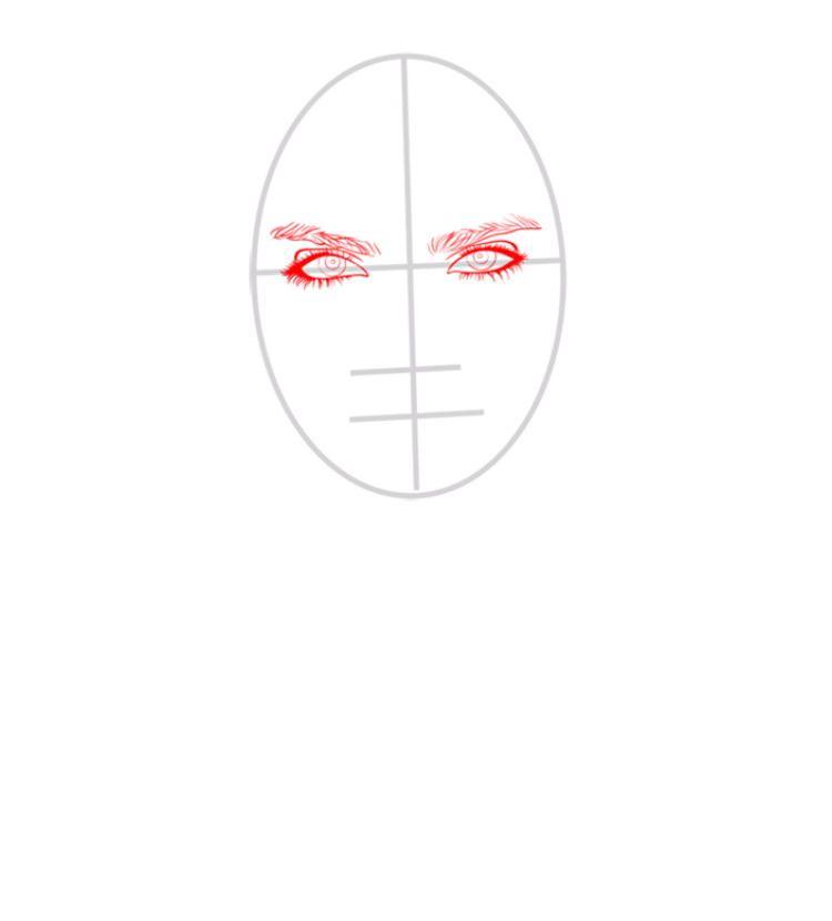 Кара Делевинь как нарисовать