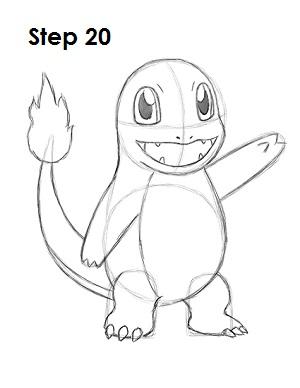 Как нарисовать Чармандера
