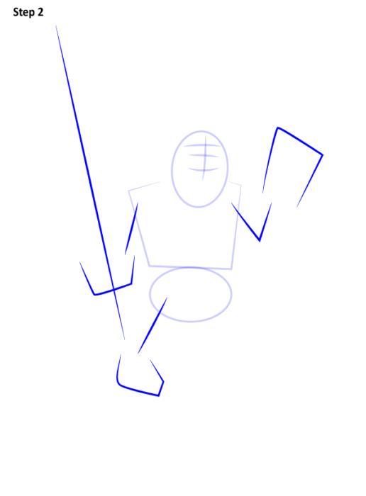 Как нарисовать Принца из Клеш Рояль