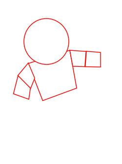 научиться рисовать космонавта 1
