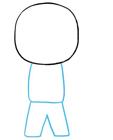 просто рисунок космонавт 3