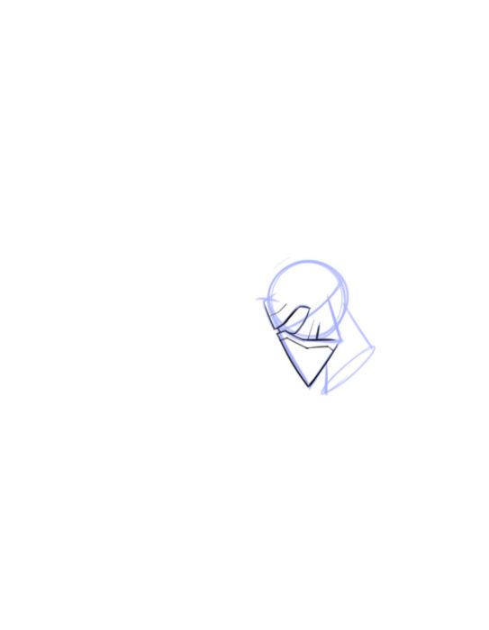 Как нарисовать Кайло Рена