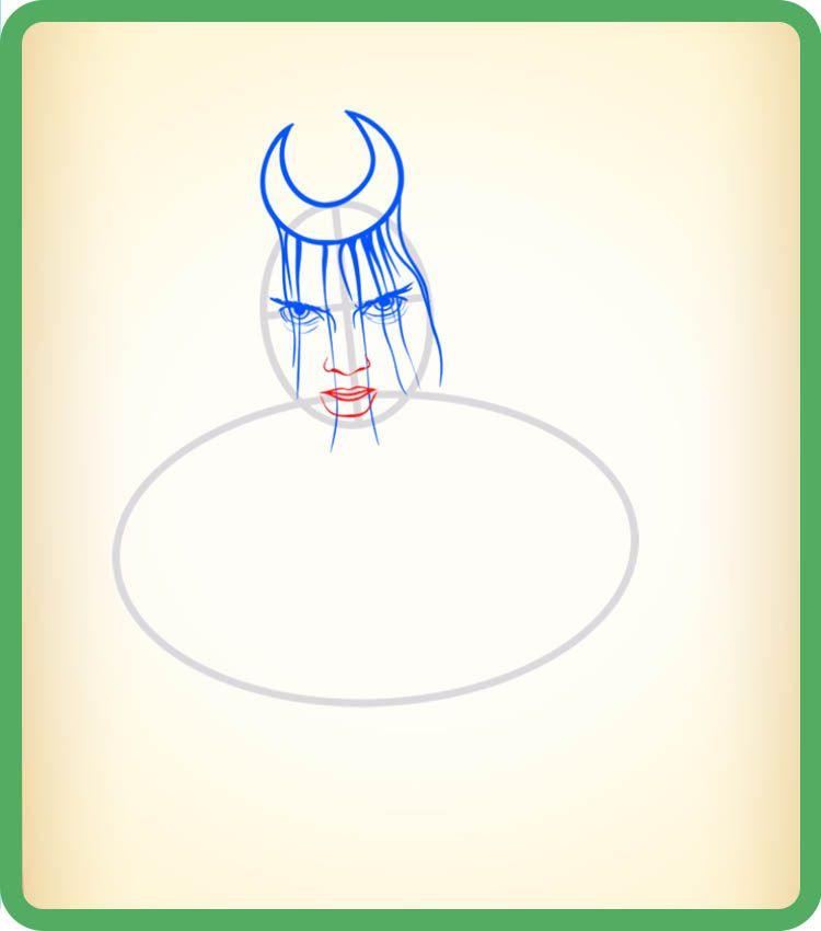 Как нарисовать Чаровницу