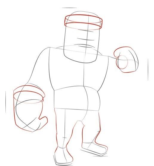 Как нарисовать Короля Варваров