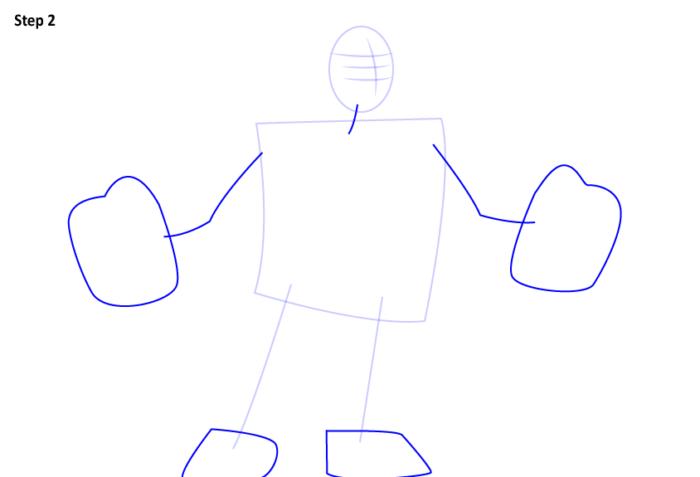 как нарисовать Ральфа 2