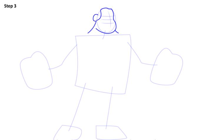 как нарисовать Ральфа3