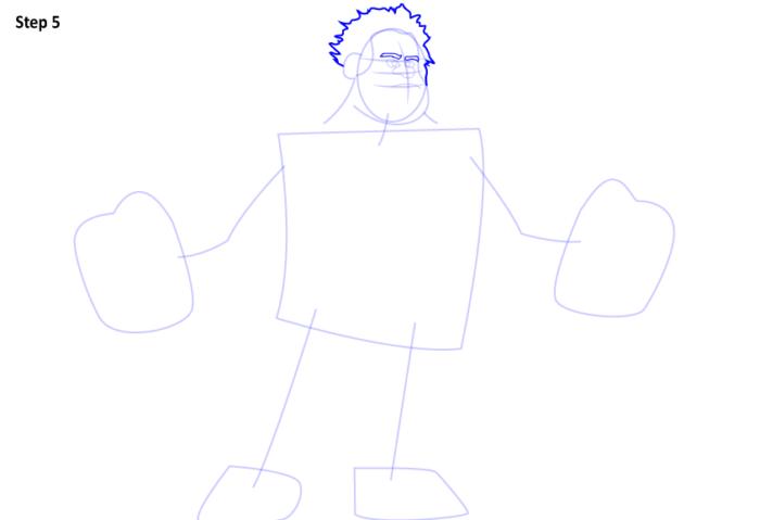 как нарисовать Ральфа5