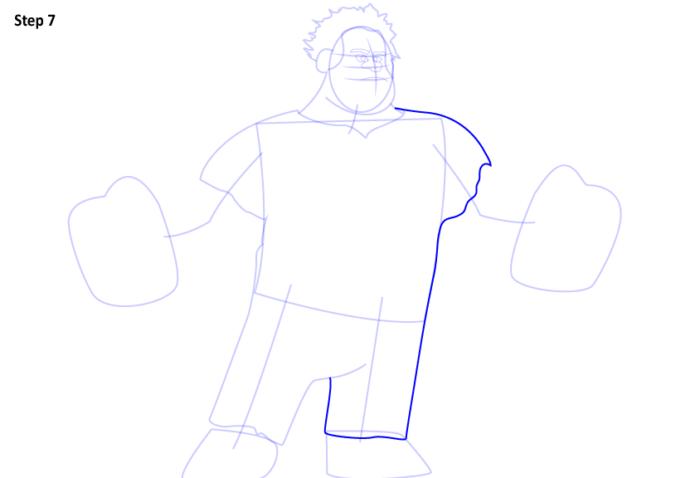 как нарисовать Ральфа7