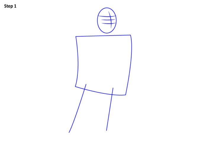 как нарисовать Ральфа 0