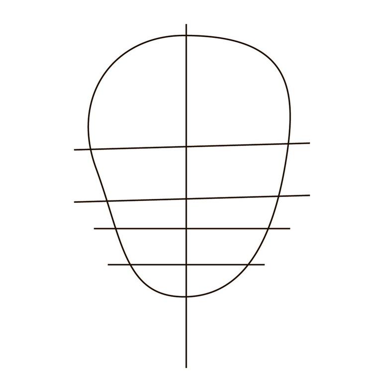 как нарисовать значок Харли Квинн