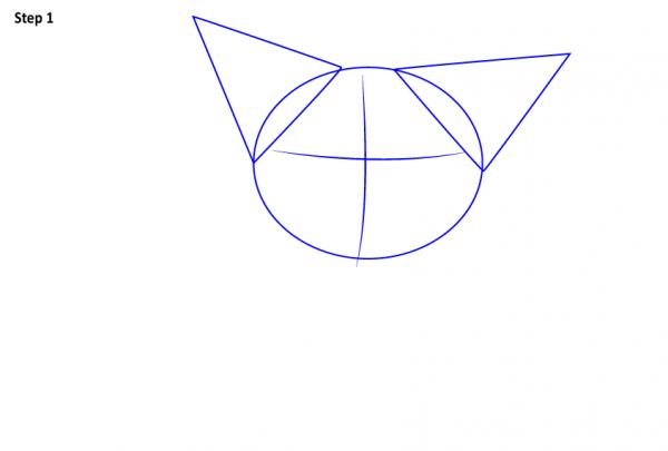 Как нарисовать поросенка Пуа