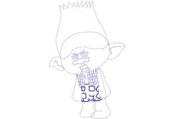 Как нарисовать Цветана из мультика